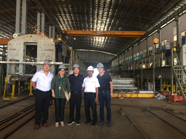 1800 tons SPA-H corten steel sheets and coils exported to Indonesia to make railway carriage