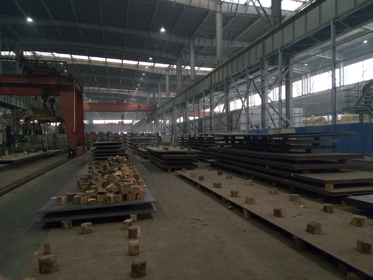 Weather resistant GB/T 4171 Q235NH steel plate