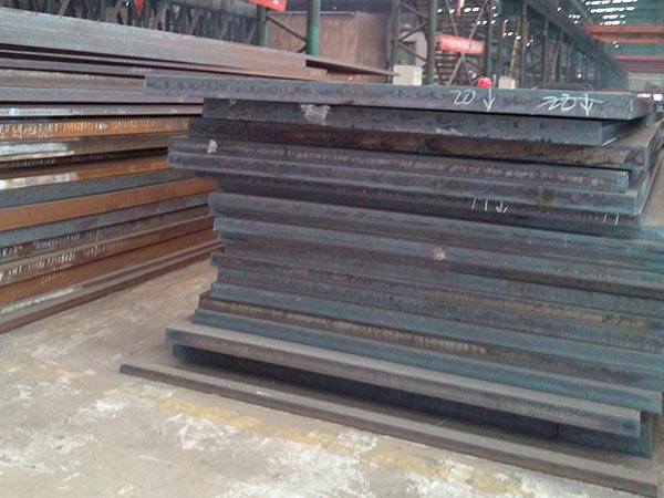 A588 atmospheric corrosion resistant steel impact properties