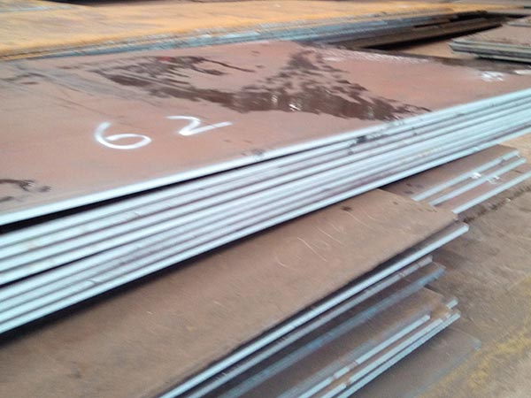 What is the heat treatment specification of Corten A beam steel corten plate price